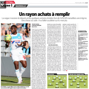 Clinton Njie L'Equipe July 19th