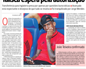 Talisca A Bola August 2nd