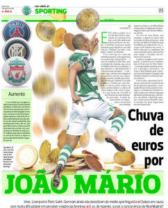 Joao Mario A Bola August 4th
