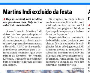 A Bola Bruno Martins Indi August 7th