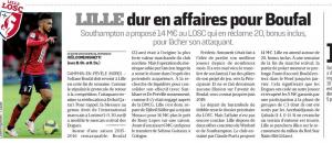 Sofiane Boufal L'Equipe August 25th