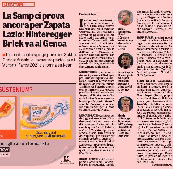 Lazio keen on Diafra Sakho