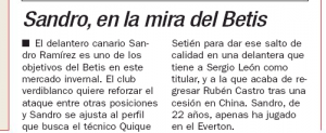 Everton lined up for surprise transfer with Betis before the close of the window