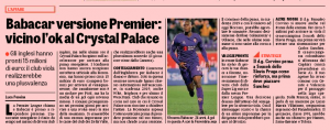 Club 'not opposed' to striker sale as Crystal Palace ready to bid ?15m for 24-year-old