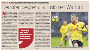 Watford 'luxury' signing made very much at club level, newspaper changes tune somewhat
