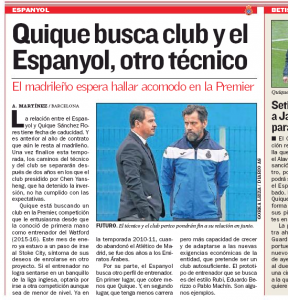 Spaniard looks a reasonable bet for Everton managerial job in the summer
