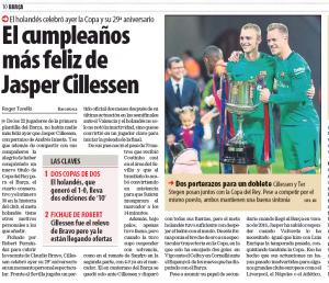 Jesper Cillessen Liverpool