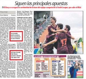 Spanish newspaper says player is set for transfer to Manchester City this summer