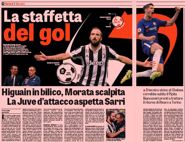 'Juventus forward Gonzalo Higuain has not agreed to move to Chelsea'
