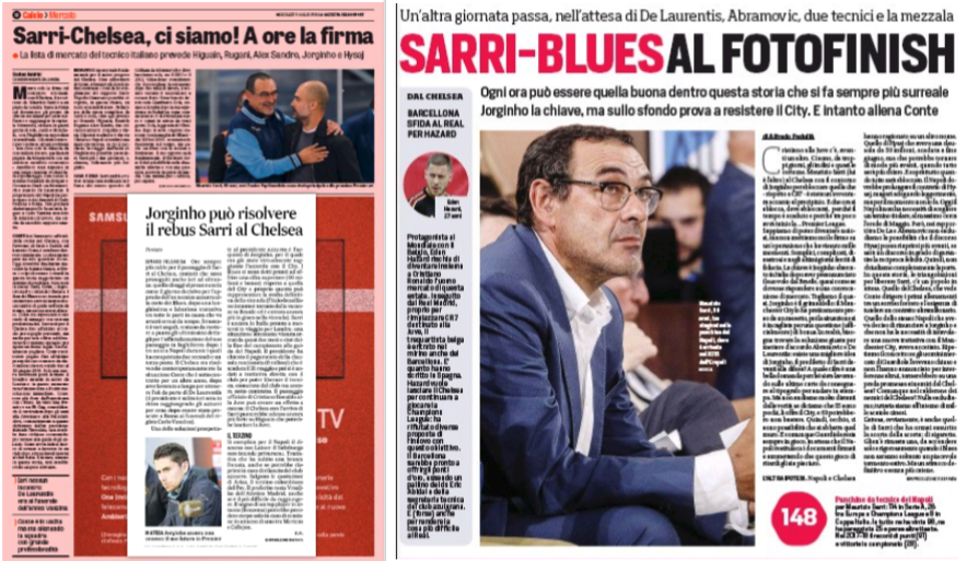 Chelsea finally sack Antonio Conte with Maurizio Sarri set to succeed him