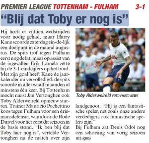 Tottenham star 'glad' his 'fantastic' teammate is still at the club after tumultuous summer