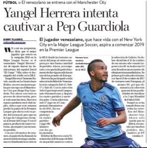 Player is trying to 'captivate' Guardiola and earn sport at Manchester City from January onwards