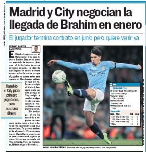 From Spain: Manchester City in talks to sell Brahim Diaz for ?5-10m