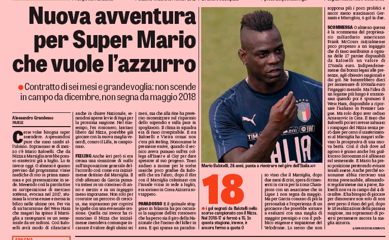 Mario Balotelli joins Marseille