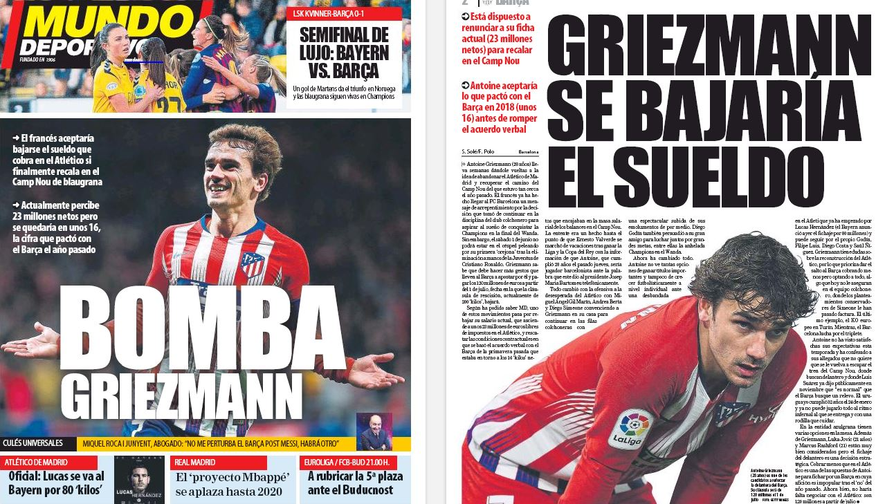 Griezmann 'fed up' with transfer rumours