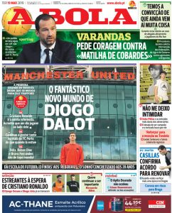 """I can make my own story"" – Diogo Dalot speaks to Portuguese media about Man United, money, and teammates"