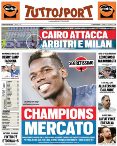 'Top Secret' – Front page story in Europe, Manchester United star 'will try to leave' with no CL