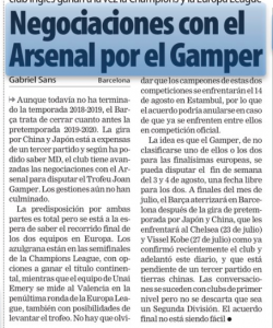 Arsenal in talks with La Liga giants for August 3rd/4th friendly in Spain