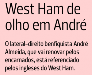 West Ham 'eyeing' right-back, he teases over Premier League move