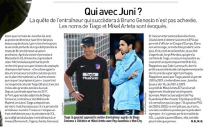 From France: Man City?s Mikel Arteta being studied for Lyon managerial role