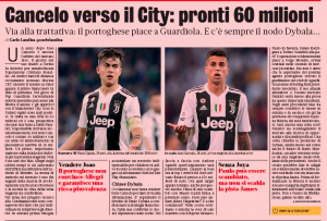 'Positive first approaches' as Manchester City have ?60m 'prepared' for defender