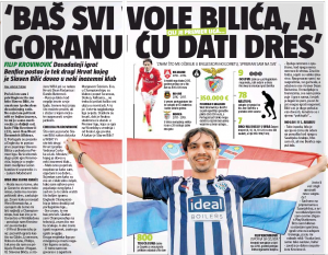 'Honoured and privileged' – Filip Krovinovi? speaks to Croatian media – Thrilled with West Brom move