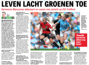 Jackie Groenen speaks to Dutch media about Man United start – And Old Trafford hope