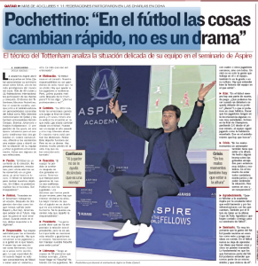 Mauricio Pochettino on why he can't tell Tottenham players they're s***