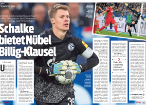 Manchester United have shown interest in German goalkeeper – Currently available on a free next summer