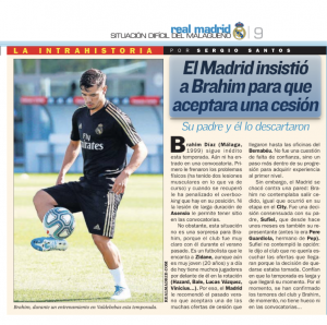 Brahim Diaz and Real Madrid in disagreement – same problem as at Manchester City