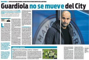 From Barcelona: Pep Guardiola 'convinced' on Manchester City situation