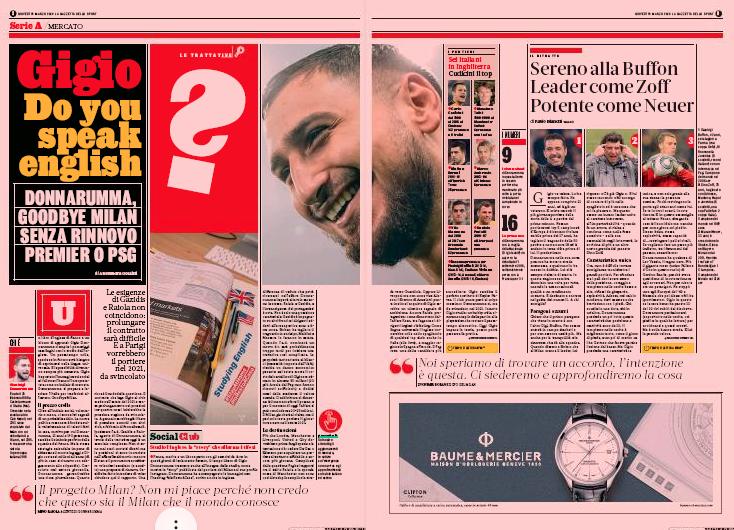 Gianluigi Donnarumma Linked With PSG Move