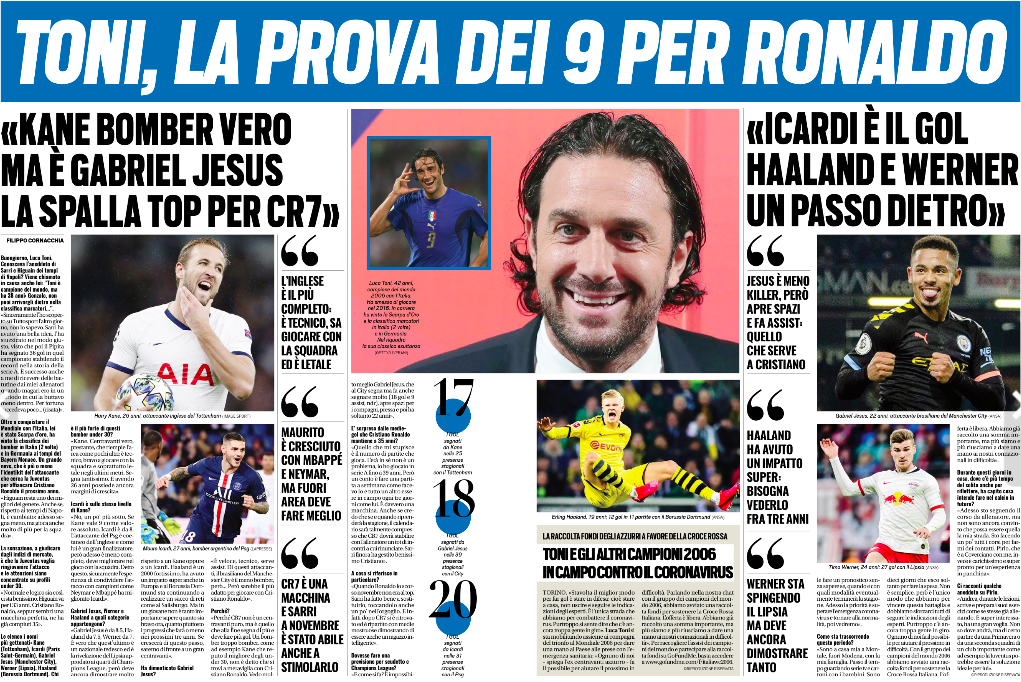 Luca Toni urges Juventus to go for Man City attacker Gabriel Jesus
