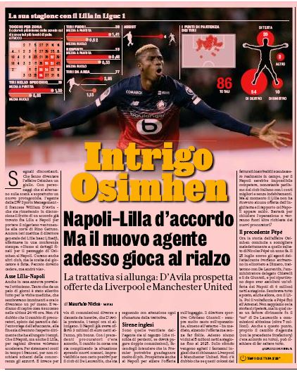 Victor Osimhen declines approaches from Liverpool & Manchester United, focused on Napoli move