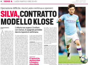 Club hoping David Silva will respond to offer next week – Two-year deal on table, move 'entices' Man City legend