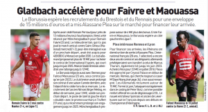 Crystal Palace have 'approached' French forward this summer – Has an 'exit pass', club want ?15m