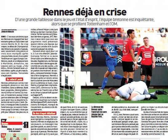 Crisis of Covid quarantine and injuries ahead of Tottenham versus Rennes