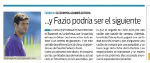 Federico Fazio Sport July 16th