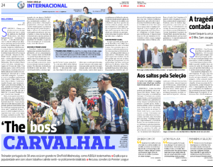 Carvalhal A Bola July 18th