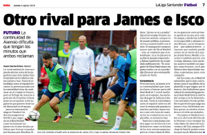 James Isco Marca August 4th