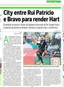 Rui Patricio Record August 15th