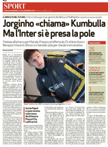 Chelsea to bid €23 million for Marash Kumbulla